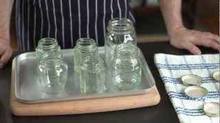 How To - sterilise jars