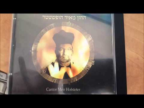 לדוד מזמור (ז.קוורטין)- החזן מאיר הופשטטר - Cantor Meir Hofsteter