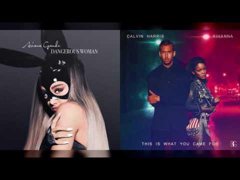 Ariana Grande vs. Calvin Harris ft. Rihanna - Be Alright / TIWYCF (Mashup)