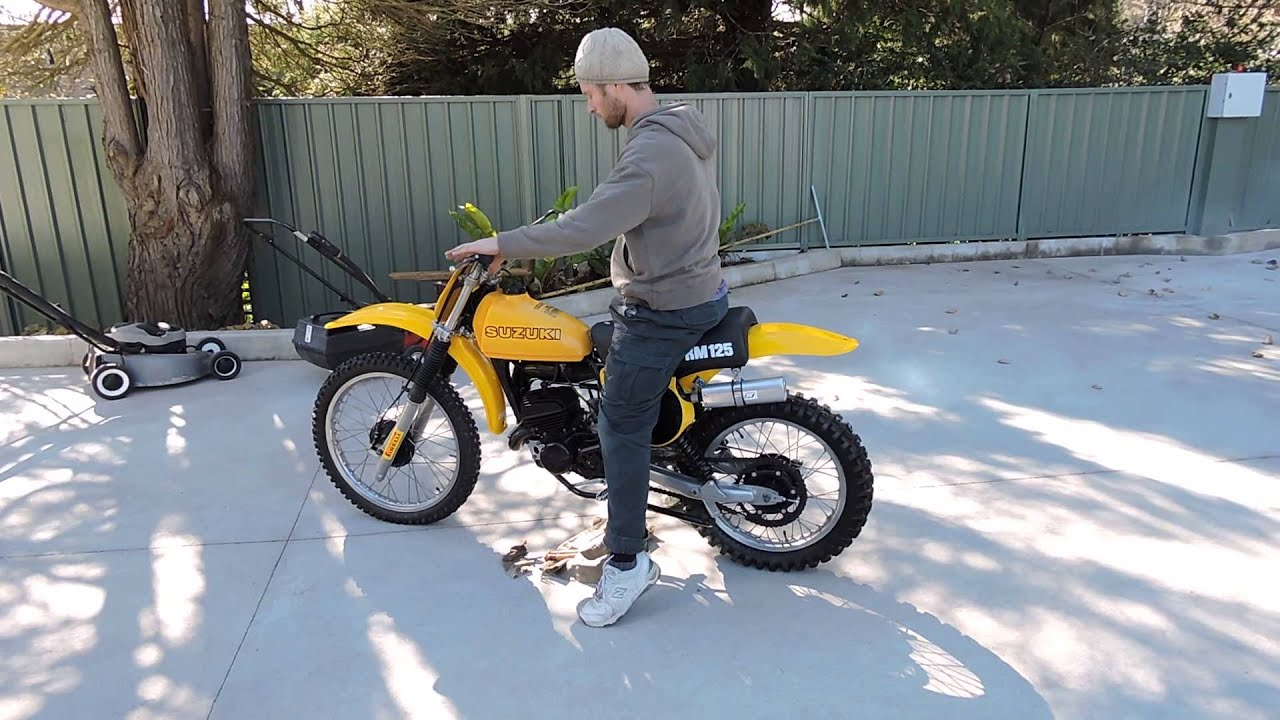 suzuki rm 125 1978 c 2 for sale by young guns motorcycles on ebay youtube. Black Bedroom Furniture Sets. Home Design Ideas