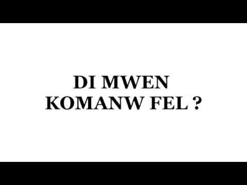 KOMANW FEL TÉLÉCHARGER DI MWEN