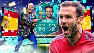 HE HAS 94 STAMINA?! 87 FLASHBACK JUAN MATA PLAYER REVIEW! FIFA 20 Ultimate Team