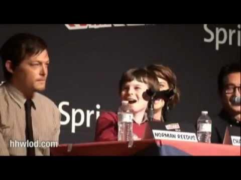 Daryl making fun of Carl