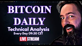 Did The Raising Wedge Work Or Fail Or What? - Bitcoin Daily Analysis & Price Prediction.