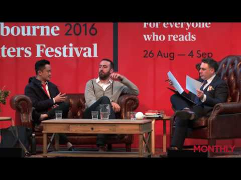 The Writers Room: Steve Hely and Benjamin Law on writing TV (Melbourne Writers Festival 2016)