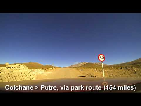 Bolivia - Chile - Peru Road-Trip Driving Route October 2017 - Brinno time-lapse drive-lapse