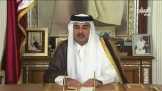 بالفيديو.. تميم: «لا أقلل من معاناة قطر من الحصار وآمل حل الخلاف بالتفاوض»
