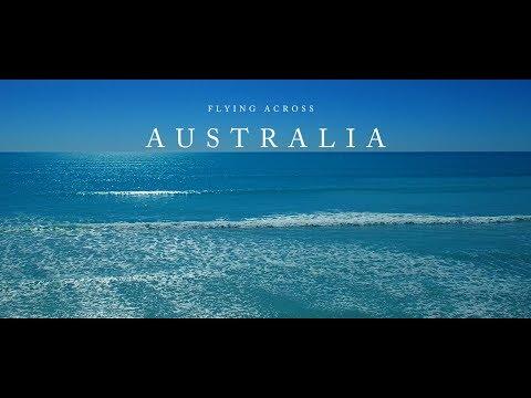 Flying Across Australia