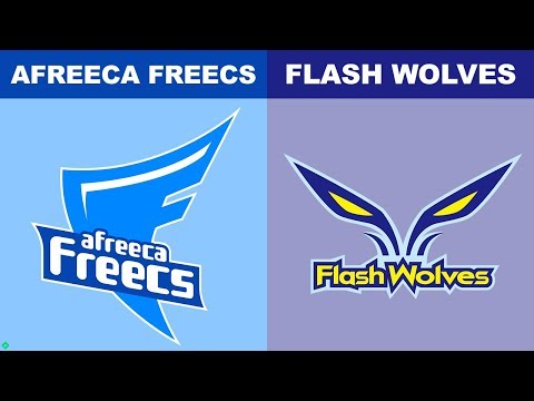Afreeca Vs FW - Worlds 2018 Group Stage Day 6 - AFS Vs Flash Wolves