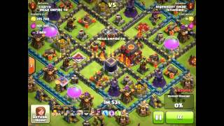 Clash of Clans - 6 attacks with 6 Golems