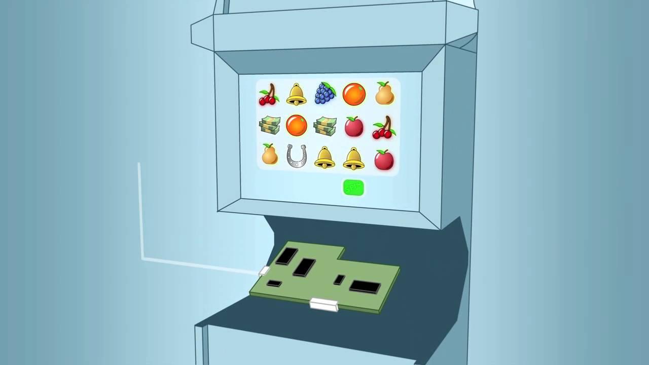 casino slot machine works