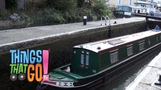 CANAL BOAT: Boat videos for kids| children| toddlers. Preschool & Kindergarten learning.