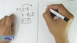 Ecuaciones con Suma y Resta