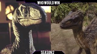 The Big One vs Utahraptor: Who Would Win? (S2)