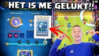 LEGENDARISCHE KIST DOOR TOUCHDOWN UITDAGING!! CLASH ROYALE NEDERLANDS