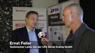 Roundtable: Ernst Feiler,UFA, zu Metadaten in der Produktion