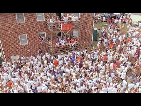 Virginia Tech Gameday is Wild