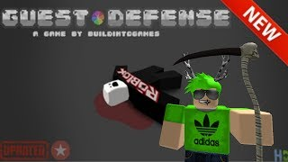 Roblox Gameplay Commentary - Guest Defense!