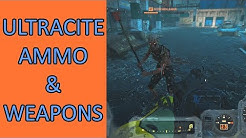 Ultracite Ammo, Mods, and Weapons in Fallout 76