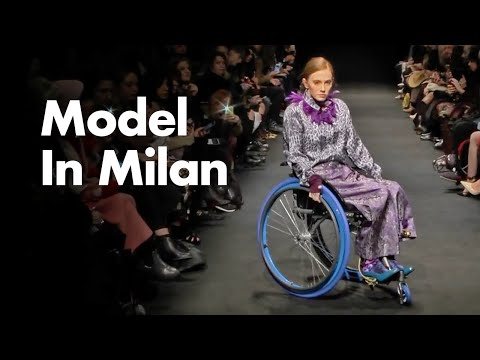 Tetraplegic Model In Milan