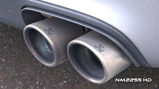 akrapovic exhaust on a porsche carrera gts