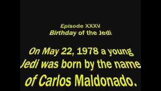 Star wars Birthday video for my Brother