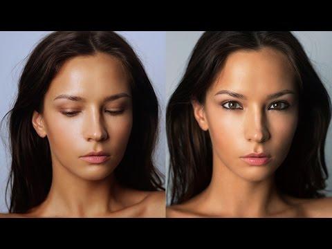 Как сделать милый макияж  корейский !!! 2016