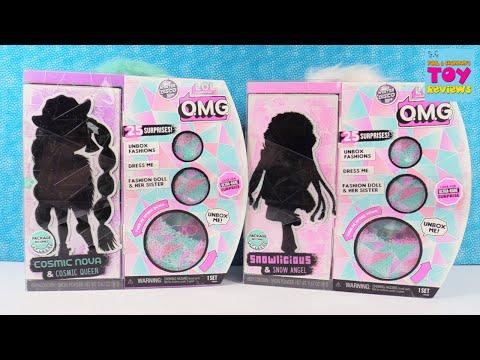 LOL Surprise OMG Dolls Cosmic Nova & Snowlicious Unboxing | PSToyReviews