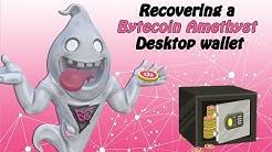 Bytecoin How To Recover a Bytecoin Amethyst Desktop Wallet // Bytecoin Guru