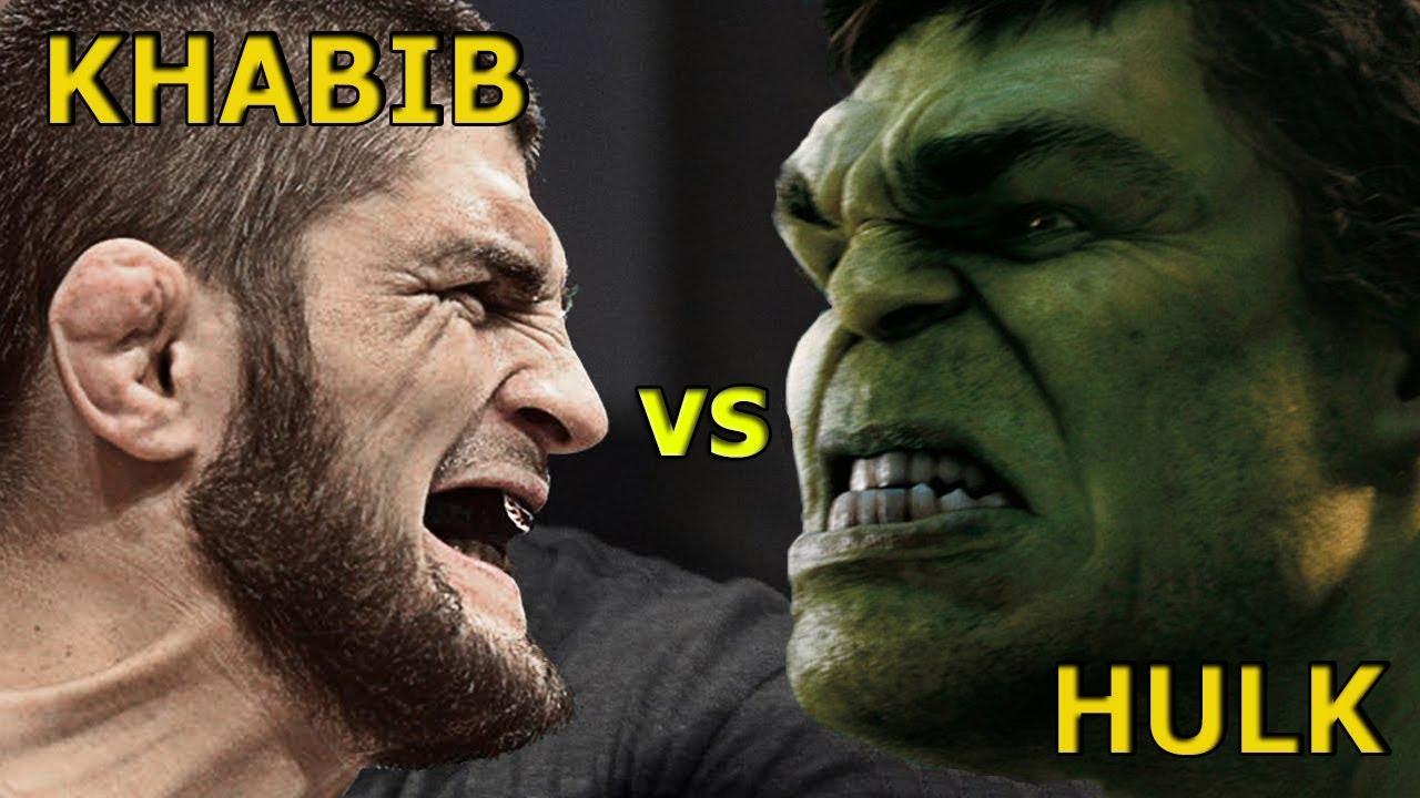 Хабиб Нурмагомедов - Невероятный Халк / UFC vs Marvel