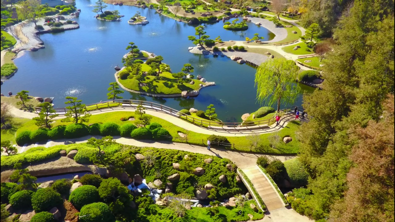 The Japanese garden - Woodley Park, in the Sepulveda Basin ...