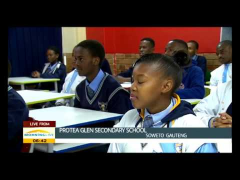 Protea Glen Secondary school goes paperless through E-learning