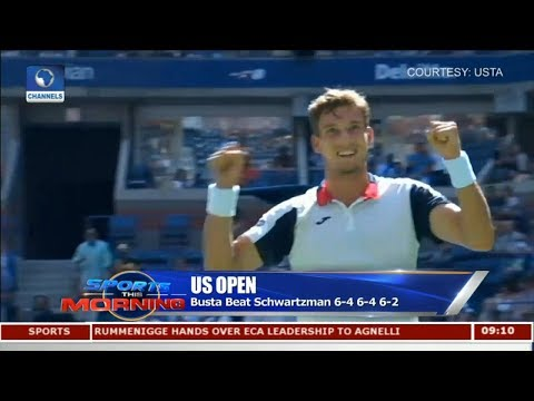 Kevin Anderson Beats Querrey In Record-Breaking Tie | Sports This Morning |