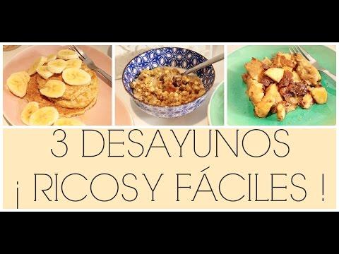 3 DESAYUNOS RICOS Y FÁCILES ! | Siilvia123Bella