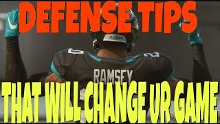 How To Play Defense In Madden 19! How to User On Defense, Stop The Run & Tips to Never Miss a Tackle
