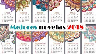 MEJORES NOVELAS 2018