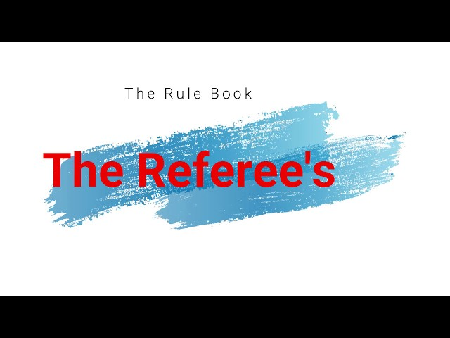 The Referee's
