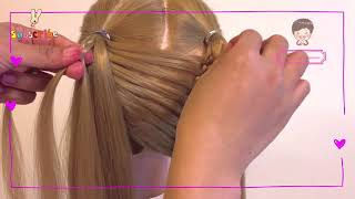 How To Dutch Braid For Beginners | everyday Look | Easy hairstyles | Hairstyles By Kanomtarn.