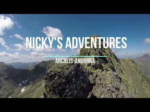 Andorra - Mountains In Summer 2018 (GoPro)