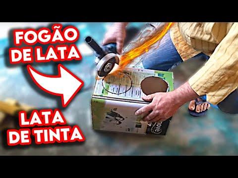 FOGÃO de LATA