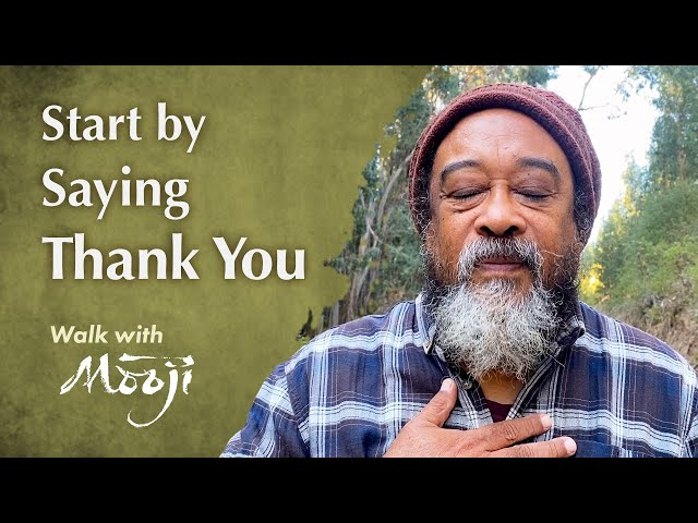 Start by Saying Thank You