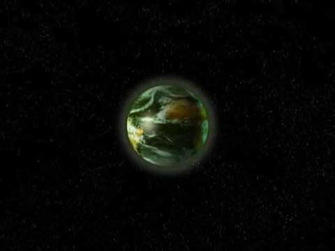 Alien Planet Explosion