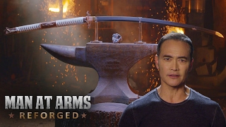 Nodachi Sword – For Honor - Man At Arms: Reforged (feat. Mark Dacascos)(Big thanks to Ubisoft for sponsoring this episode! To learn more about For Honor and to pre-order the game, head over NOW to http://bit.ly/2jMZbf8. Subscribe!, 2017-02-06T18:00:02.000Z)