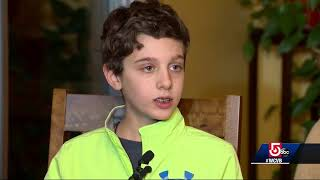 12-year-old boy saves grandfather, avoids accident