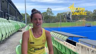 2020 FIH Hockey Pro League interview of the week with Brooke Peris