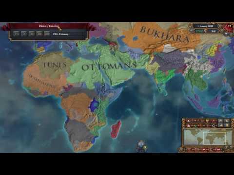 Europa Universalis 4 Timelapse - Rise of Dutch Empire