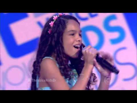 Jamille Silva canta 'Let it go' no The Voice Kids - Audições|1ª Temporada