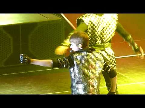 Justin Bieber - Never Say Never ft Jaden Smith - live Sheffield 23 march 2011 - HD