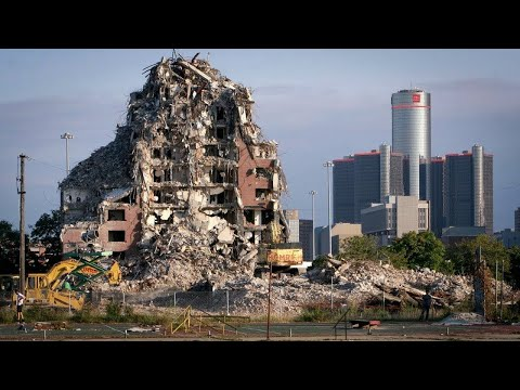 Abandoned Detroit - The City of Neglect (Documentary)