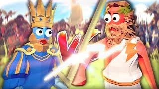 ALLE EINHEITEN vs ALLE EINHEITEN! KÖNIGE vs GÖTTER! - Totally Accurate Battle Simulator (TABS)